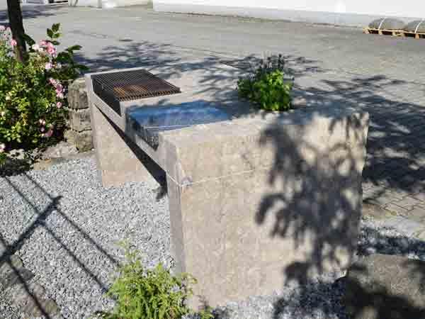 Outdoorküche Stein Nürnberg : Outdoorküche steinmetz braun essenbach bei landshut